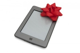 ereader with bow