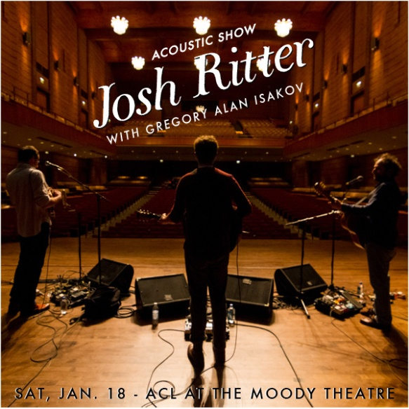 josh ritter acoustic show