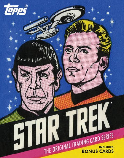 Star Trek Topps cover