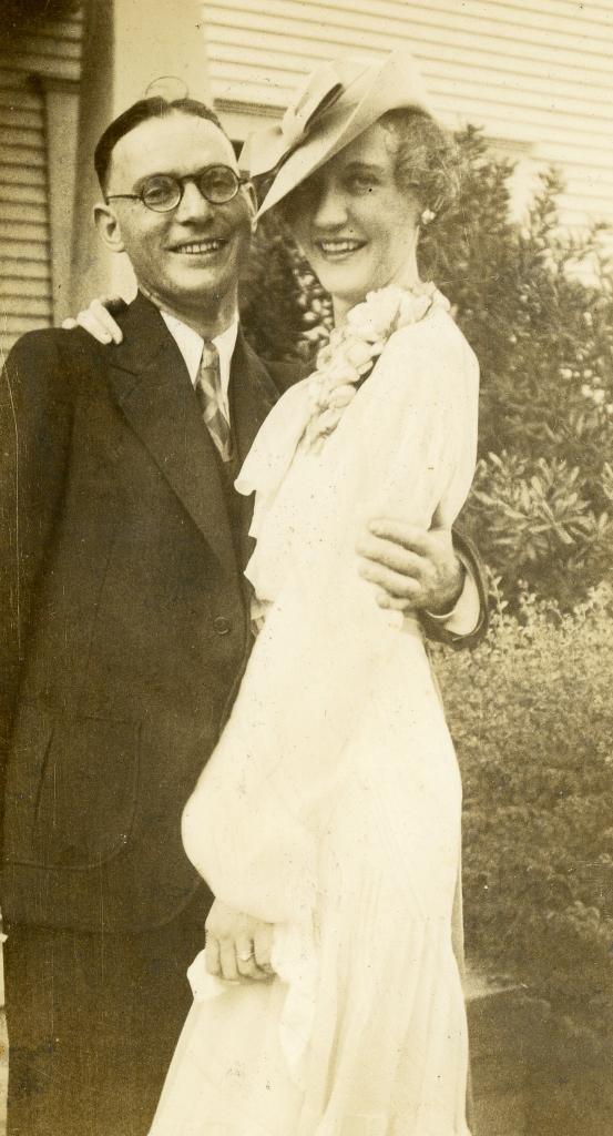 Adelbert W. Alderson and Dorothy May Alderson
