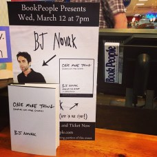 bj novak book