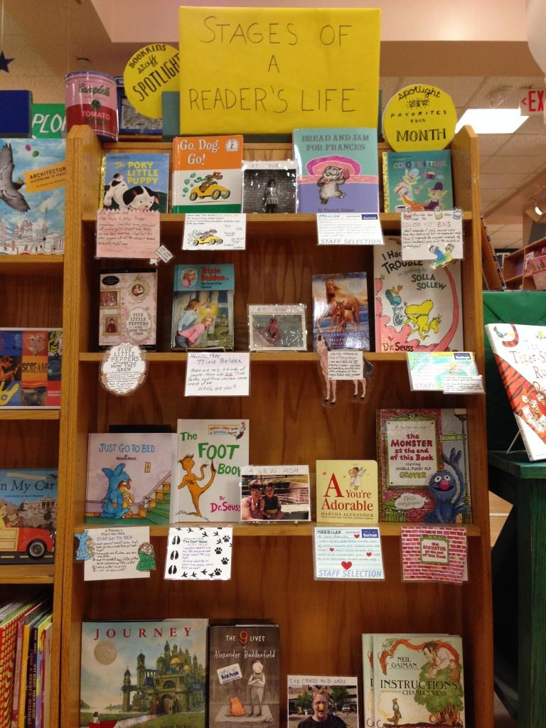Bookseller spotlight - Merrilee display