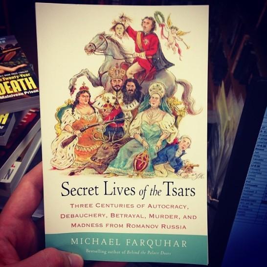 secret lives of the tsars insta