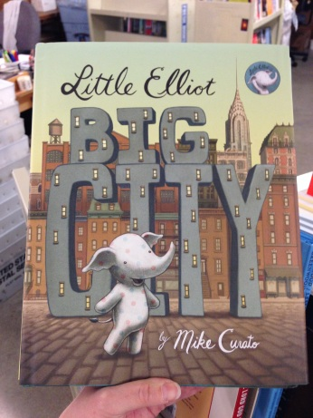 With minimal text and gorgeous, evocative illustrations, Little Elliot's story about visiting the big, and a little scary, city comes to life.