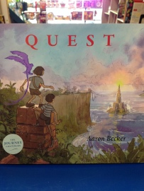 QUEST is the gorgeous, colorful, and imaginative wordless fantasy follow-up to the Caldecott Honor wining book, JOURNEY.