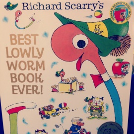 A new Richard Scarry book! This books features the popular character Lowly Worm and his very busy day at school, on the farm, and helping friends. There is lots to count, read, and find in this never before published book.