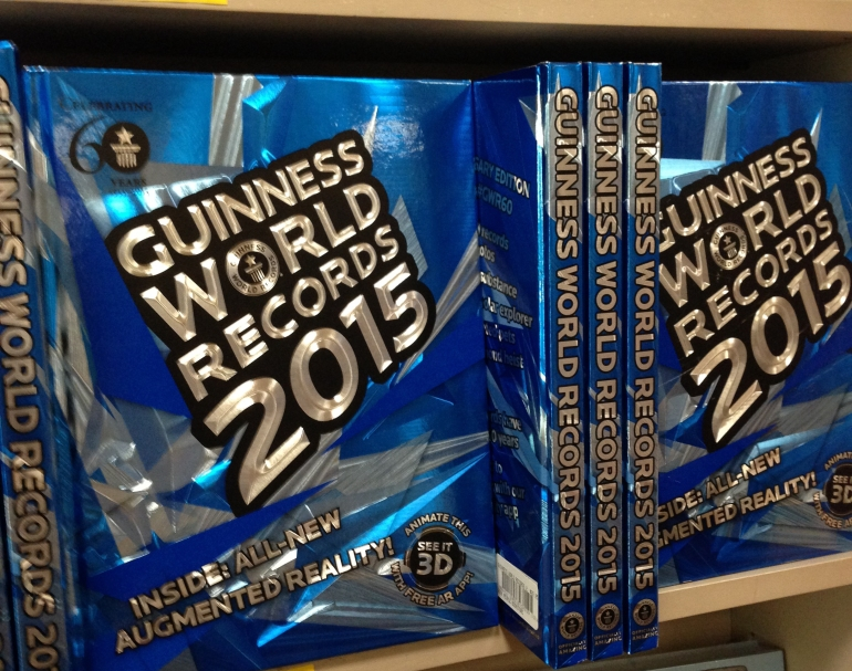 Guiness World Records 2015
