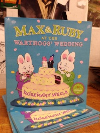 max and ruby at the warthogs wedding