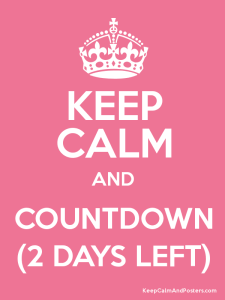 keep-calm-2-days-to-go