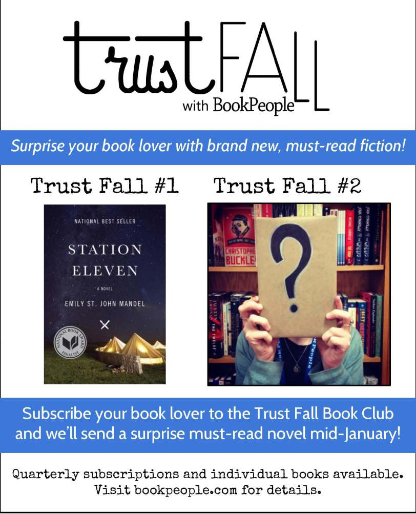 Trust Fall holiday promo