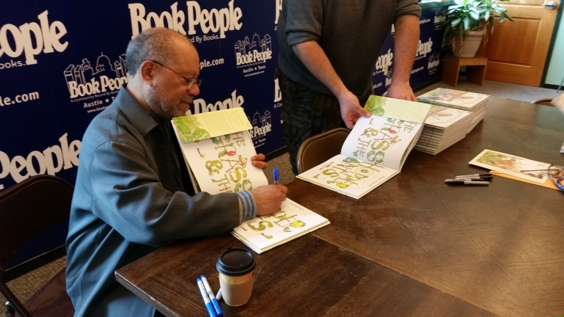 Jerry Pinkney Stock Signing