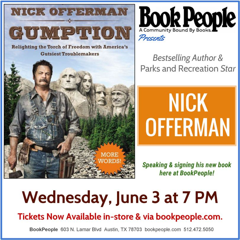 Nick Offerman Social Media Square