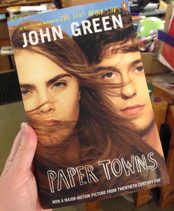 paper towns movie tie in