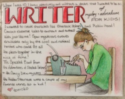 tomoko writer card