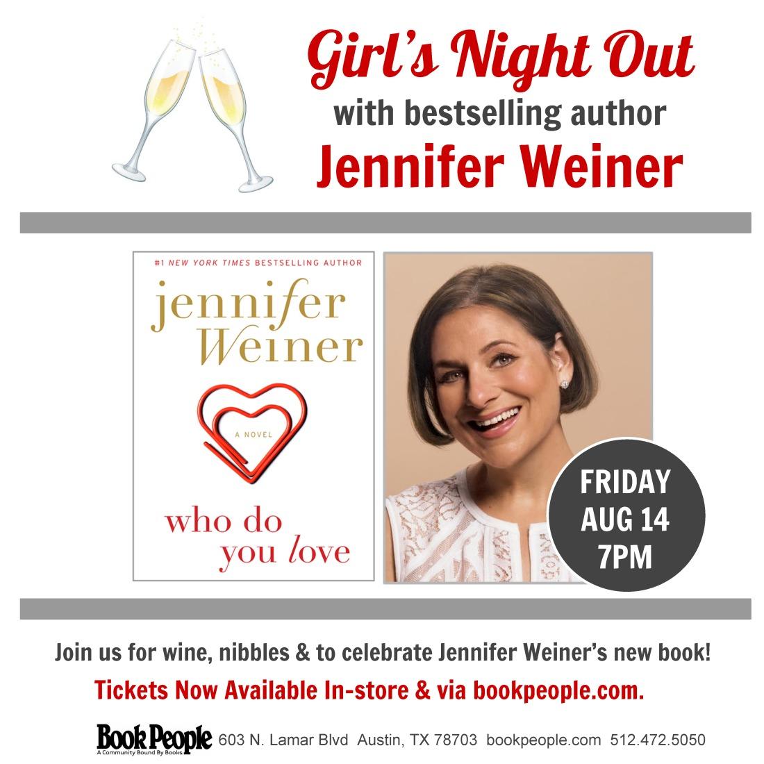 Jennifer Weiner social media square
