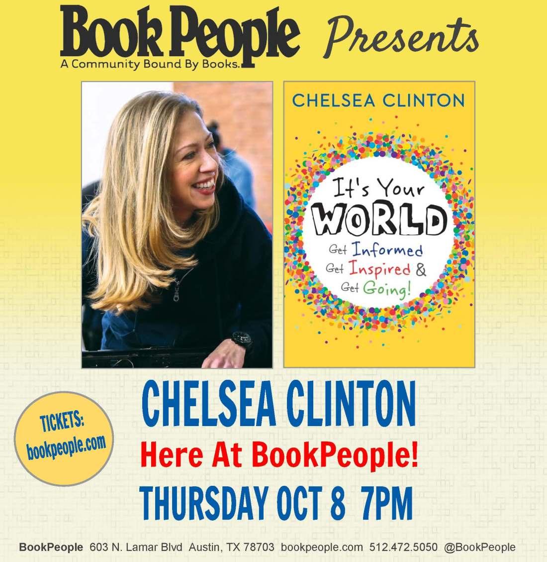 Chelsea Clinton Social Media Square