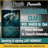 Cassandra Clare Social Media Square