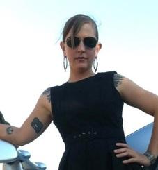 Sarah Black Dress Cropped