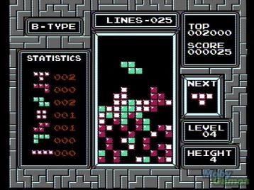 NES Tetris - the version I played