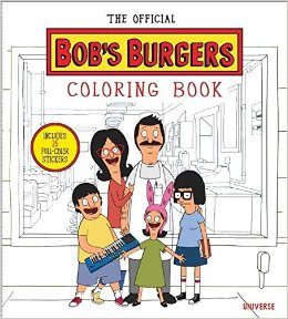 Crossing the line from line art to Pop Art, The Official Bob's Burgers Coloring Book follows in the best-selling pop-culture coloring book footsteps of Star Wars, Game of Thrones, Doctor Who, The Walking Dead, and Outlander. This collection serves up not only images of the best moments of the show, but also enough puns and fun to have the show's ravenous fans salivating with hunger and hilarity. Bob's Burgers is enjoying a true pop- cultural moment, with an original comic-book version by Dynamite Entertainment still setting records since its launch in 2014, a soundtrack album of original music from the series featuring music from indie band Sleater-Kinney (Portlandia's Carrie Brownstein), and now an ongoing, multi- city live tour that presents the cast and crew re- creating some of the most popular episodes in front of packed houses across the country.