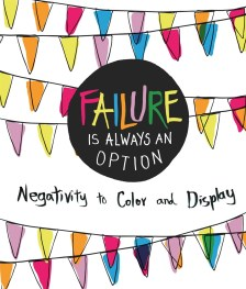 Check your ambition at the door with the hilarious new coloring book, Failure Is an Option. When striving for success sounds like far too much effort, color your way through 30 helpful reminders that phoning it in and lowering your expectations are perfectly adequate mantras. With fun illustrations and cynical quotes for every perforated page, you can color elegant works of grim resignation for your friends, family, or yourself. If you'd rather not give a damn about love, work, and the slow crawl of human existence, Failure Is an Option is the perfect coloring book!