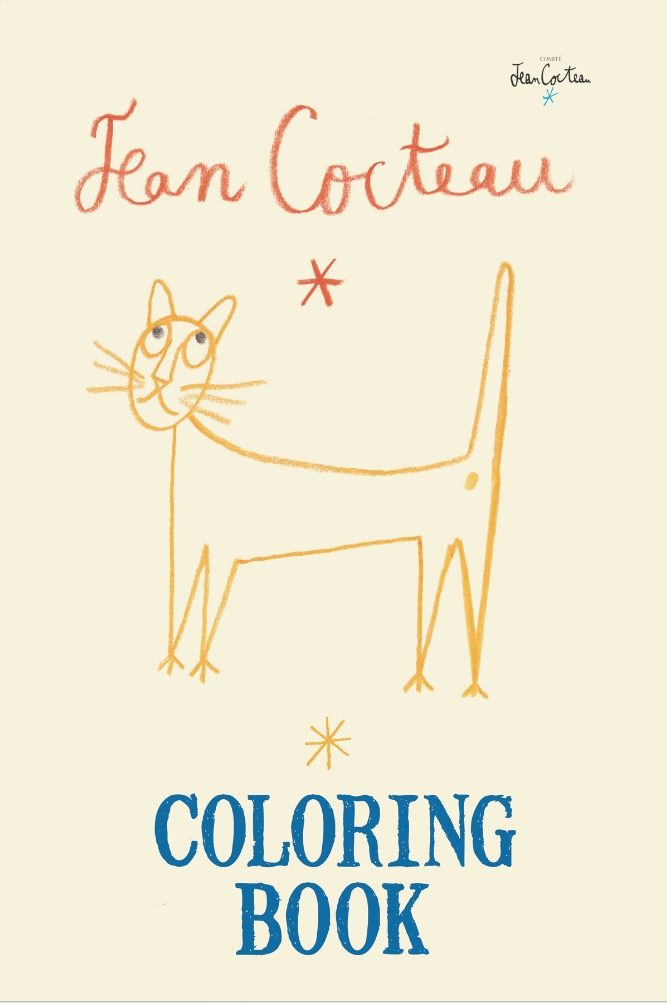 """In this lavish coloring book for adults, the fanciful, elegant world of artist/playwright/filmmaker Jean Cocteau comes alive. As a playwright, he is best known for """"The Human Voice """"(1930); as a filmmaker, for directing """"Beauty and the Beast """"(1946) and """"Orpheus """"(1948). In the 1910s, he was a prominent member of the Paris avant-garde, forming friendships and professional relationships with Picasso, Stravinsky, Gide, Proust, and Apollinaire. His paintings and graphic art were playful, avant-garde expressions, exploring mythological themes and subjects, personal portraits, and domestic scenes."""