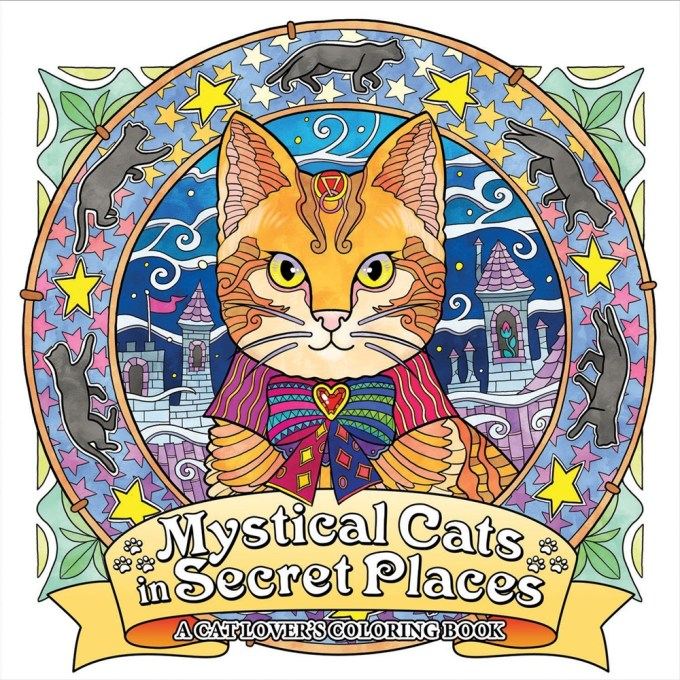 """Mystical Cats in Secret Places: A Cat Lover's Coloring Book"" offers hours of coloring fun and relaxation, featuring detailed artwork of loveable cats surrounded by enchanting scenery, eye-catching ornaments, and friendly creatures. Honoel's vibrant illustrations reveal more surprises upon every viewing, and are just waiting to be colored, making Mystical Cats an unforgettable treat for any cat lover."