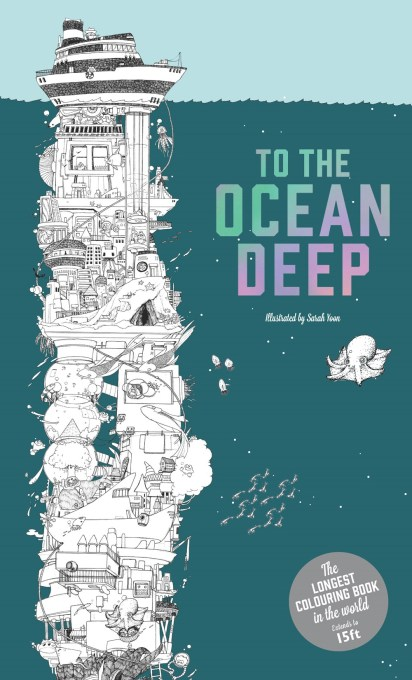 Climb down to the depths of the ocean in this amazing fold-out coloring book, the longest in the world Color an amazing tower, all the way from a boat bobbing in the waves, past sea dragons, mermaids, aqua robots, and sharks, to reach the deep ocean floor. Hours of fun for coloring enthusiasts of all ages.