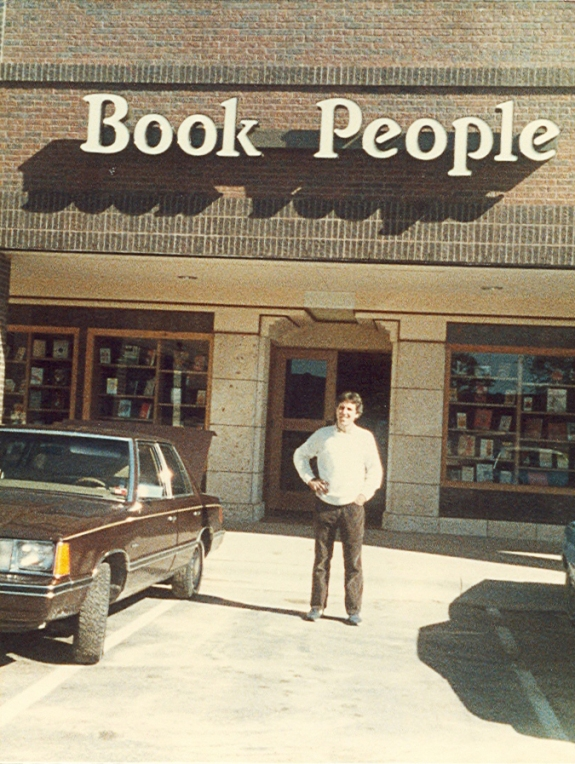 Book People storefront at Brodie Oaks