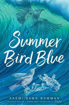 summer blue bird